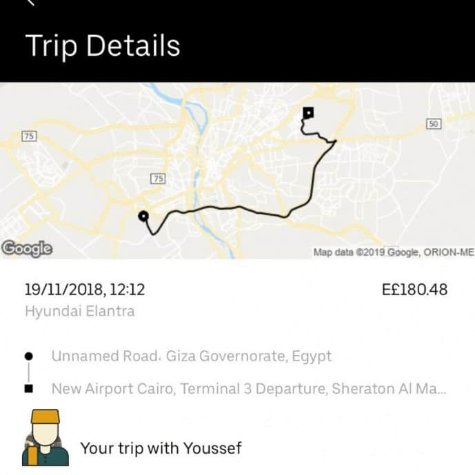 uber in egypt