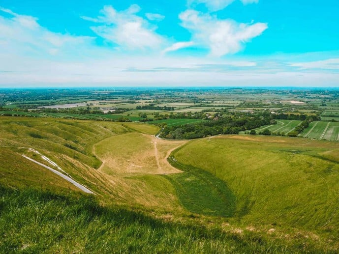 Uffington White Horse Hill