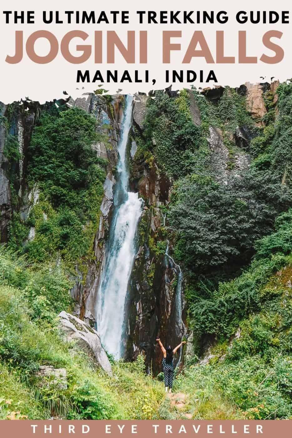 Jogini Falls Trek Manali Vashisht village Himachal Pradesh