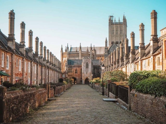 Vicars Close Wells Cathedral