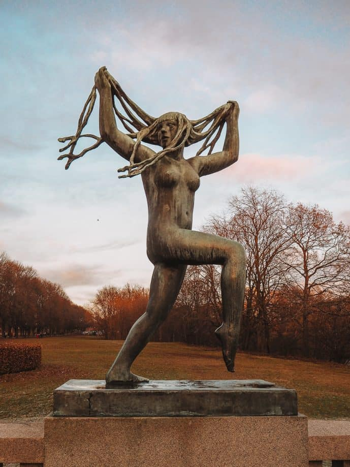 Dancing Woman at Vigeland Sculpture Park