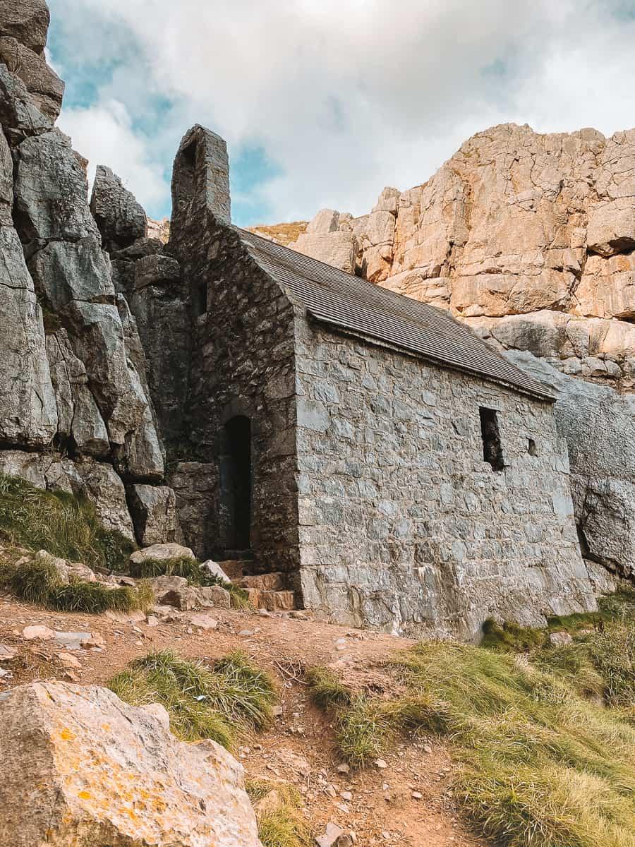 St Govan's Chapel Pembrokeshire