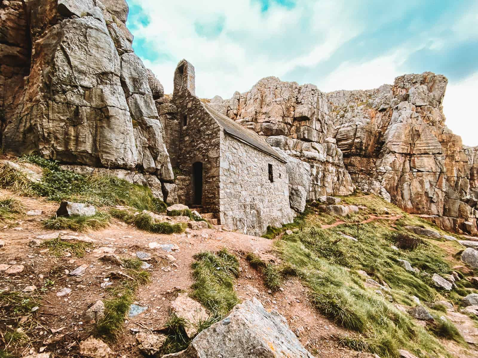 St Govan's Chapel Pembrokeshire Wales