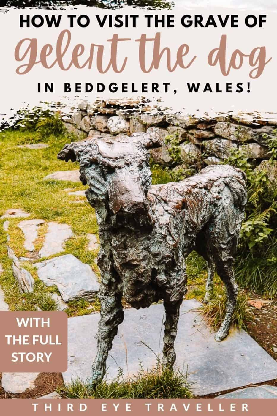 The legend of Gelert the Dog & Gelert's Grave in Wales