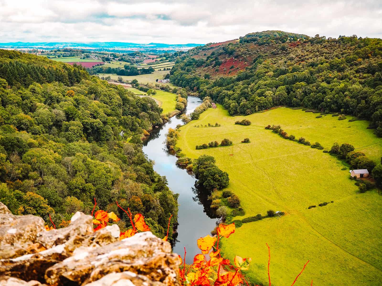 Symonds Yat Rock Viewpoint Wye Valley