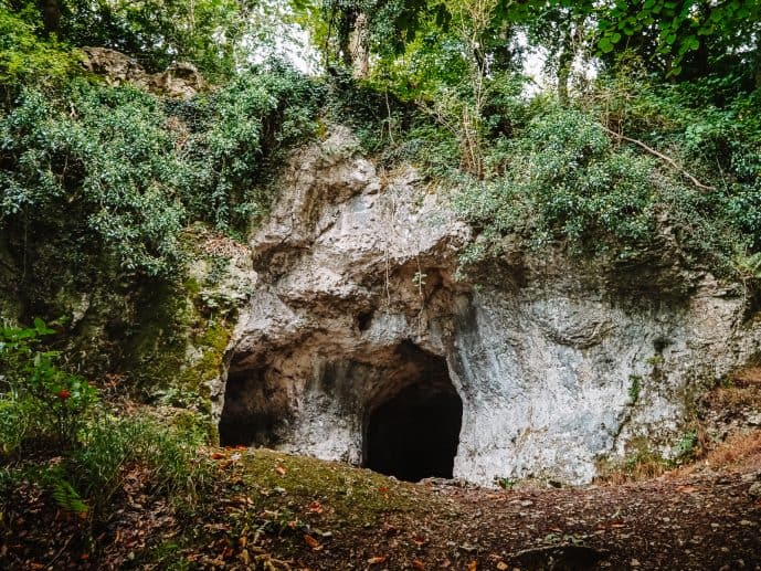 King Arthur's Cave Wales