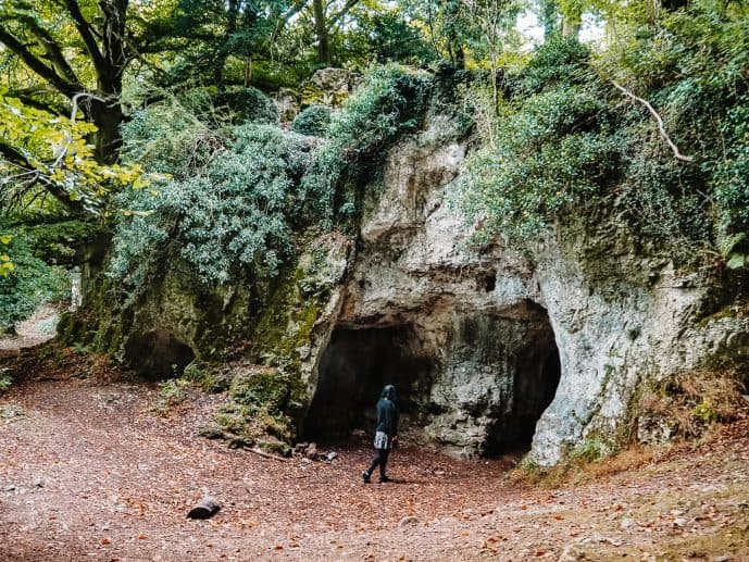 King Arthur's Cave The Doward Wye Valley Wales