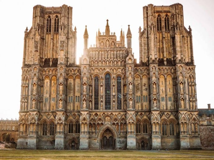 Wells Cathedral West Front | Things to do in Wells