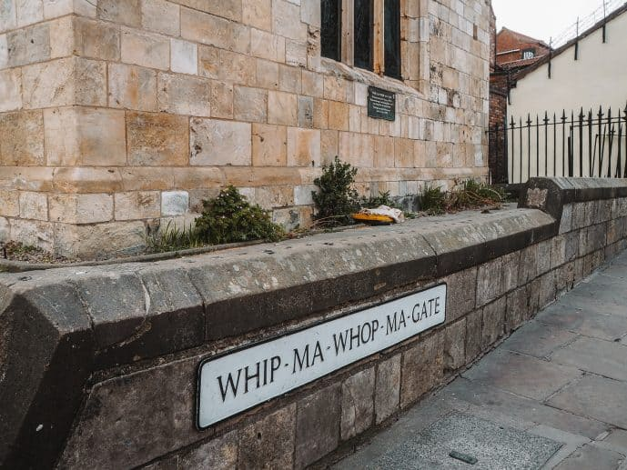Whip-ma-whop-ma-gate york